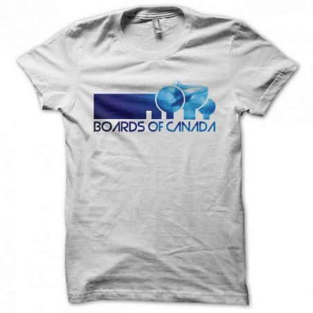 Boards of Canada fan art white sublimation t-shirt
