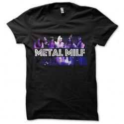 tee shirt metal milf hard...