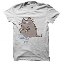 cocainomaniac sublimation cat shirt