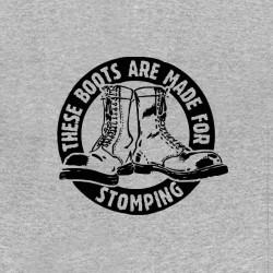 shirt stomping boots punk sublimation