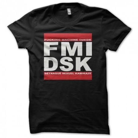Tee shirt DSK parodie Run DMC  sublimation