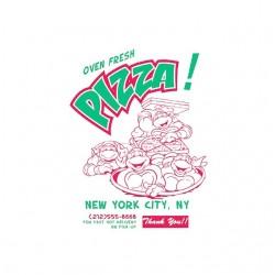 tee shirt TMNT pizza new...