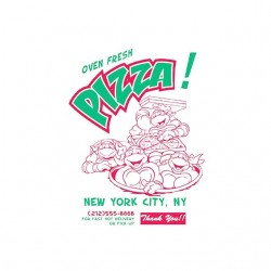 TMNT pizza new york...