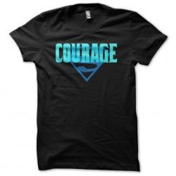 Courage justice league...