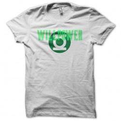 Green Lantern willpower...