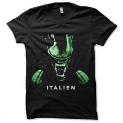 alien shirt is italian...
