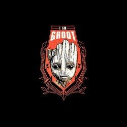 shirt i am groot guardians of the galaxy sublimation