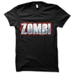 tee shirt Zombi  sublimation