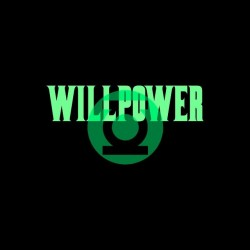 Tee shirt Green Lantern Willpower justice league basis black sublimation