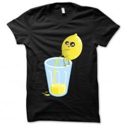 tee shirt citron pressé...