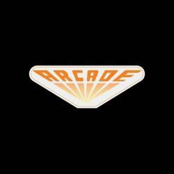 shirt arcade logo vintage sublimation