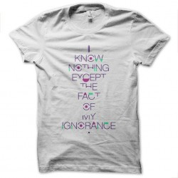 tee shirt Ajin - I know nothing T-Shirt sublimation