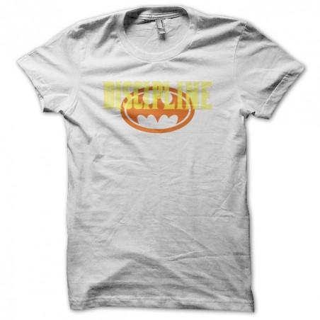 Discipline justice league basis white sublimation t-shirt