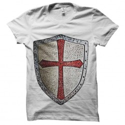 shirt knight Templar shield...