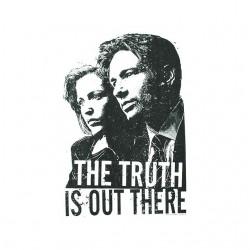 tee shirt x-files the truth...