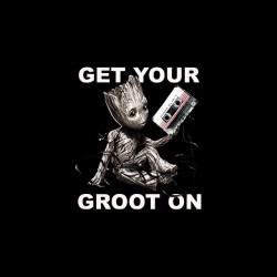 tee shirt baby groot sublimation