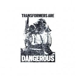 dangerous transformers sublimation shirt