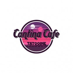 shirt cantina cafe tatooine sublimation