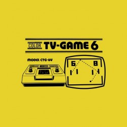 Tee shirt Color TV Game 6  sublimation