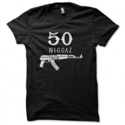 shirt 50 niggaz gangsta...