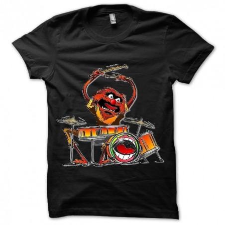 T-shirt black Animal sublimation