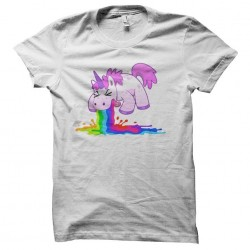 unicorn shirt that vomits...