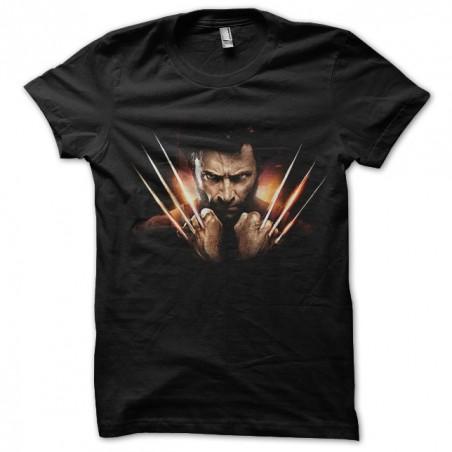 Wolverine t-shirt Japanese version black sublimation