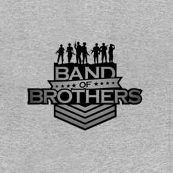 shirt band of brothers logo sublimation