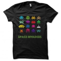 tee shirt space invaders...