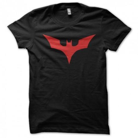 T-shirt batman symbol of the bats of 1999 black sublimation
