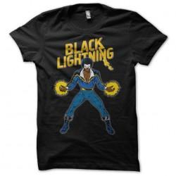 tee shirt Black Lightning...