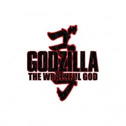 Godzilla tshirt the wrathful god sublimation