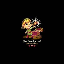 zelda link love pizza shirt sublimation