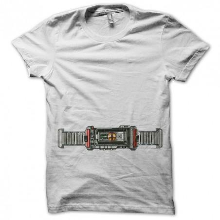 Kamen Rider Faiz belt white sublimation t-shirt