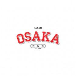 osaka japan t-shirt sublimation