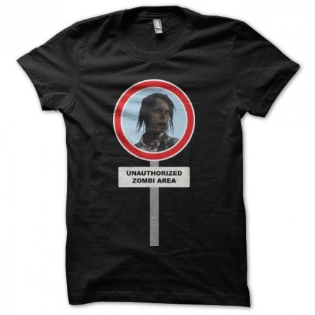 Walking Dead t-shirt with black zombies sublimation
