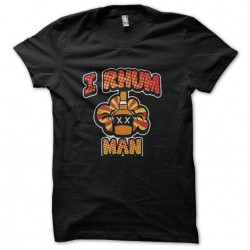 rhum man t-shirt sublimation