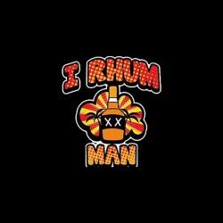 rhum man t-shirt sublimation