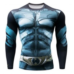 batman fitness shirt gym...