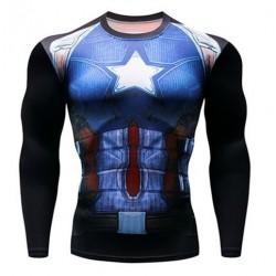 captain america fitness...