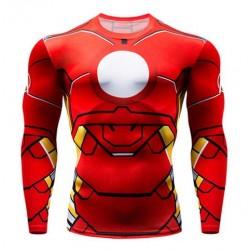 tee shirt iron man moulant...