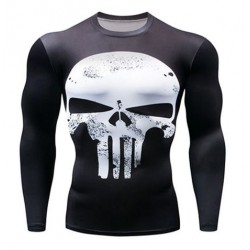 tee shirt punisher moulant...