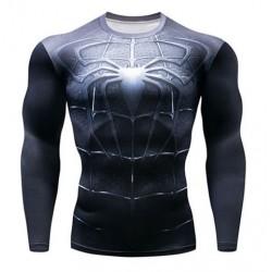 tee shirt dark spiderman...