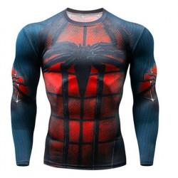 spiderman fitness shirt gym...