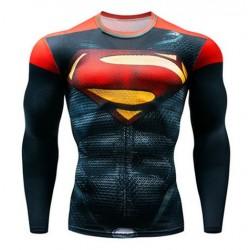 superman fitness shirt gym...