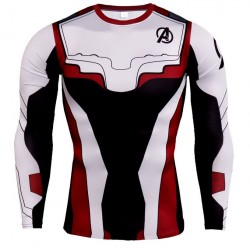 avengers fitness shirt gym...