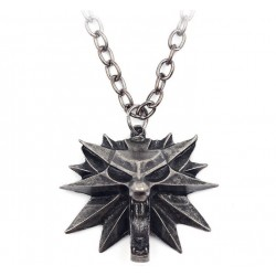 the witcher medallion Inspired Wolf School
