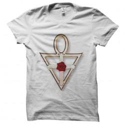 rose croix sublimation t-shirt