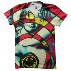 tee shirt nirvana splash...