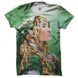 tee shirt zelda artwork...